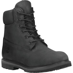 "Timberland Icon Collection Premium Boots Women 6"" Black Nubuck"